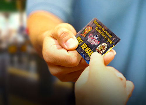Port Richey Rum River Restaurant Loyalty Card