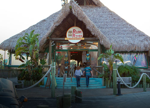 Port Richey Rum River Tiki Bar